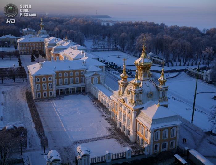 Санкт-Петербург с высоты птичьего полёта