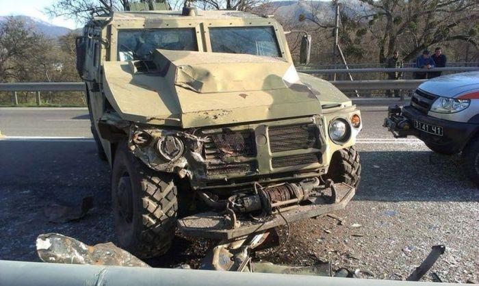 Авария на Ялтинской трассе