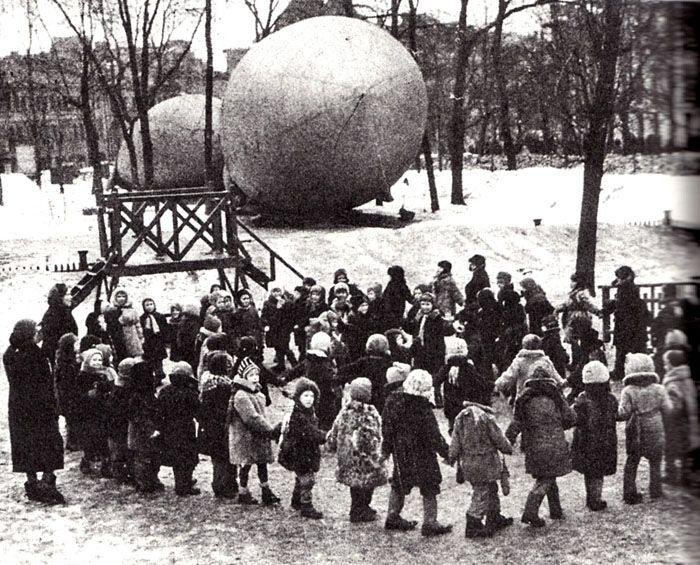 о жизни в Москве во время войны