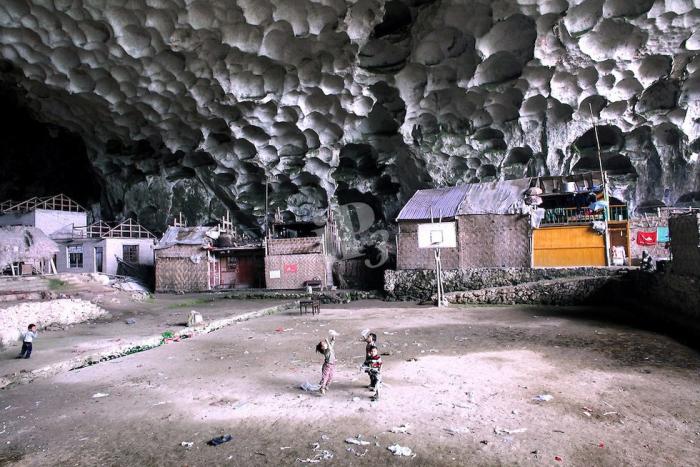 Пещерная школа в провинции Гуйчжоу
