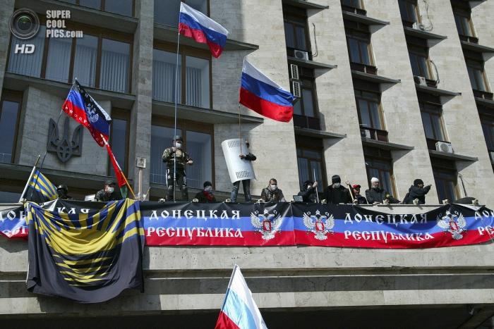 Юго-Восток Украины бунтует