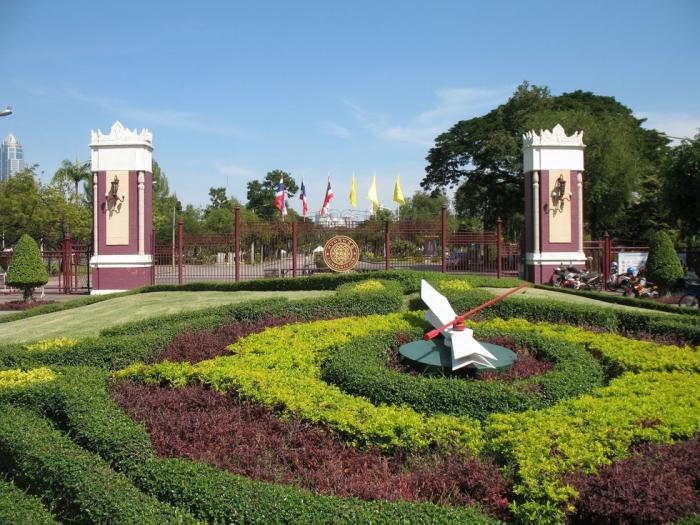 Lumphini Park в Бангкоке