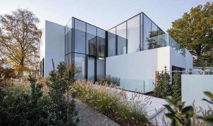 Стеклянный дом в Нидерландах