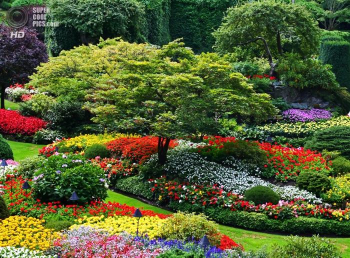 Сады Бучартов