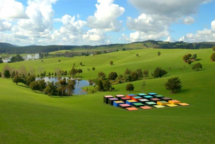 Огромные скульптуры в Новой Зеландии