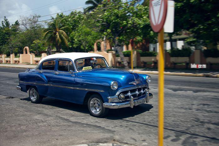 Классические автомобили Кубы