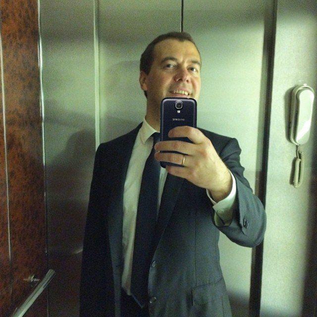 Фотожабы на селфи Медведева - 5