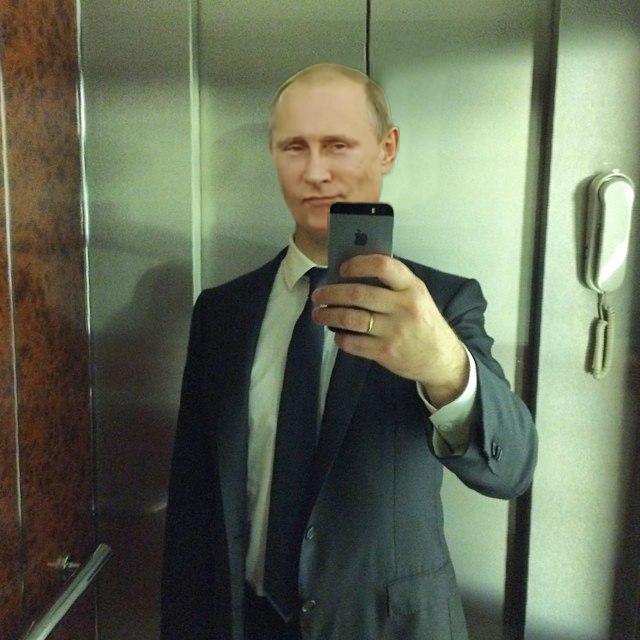 Фотожабы на селфи Медведева - 24