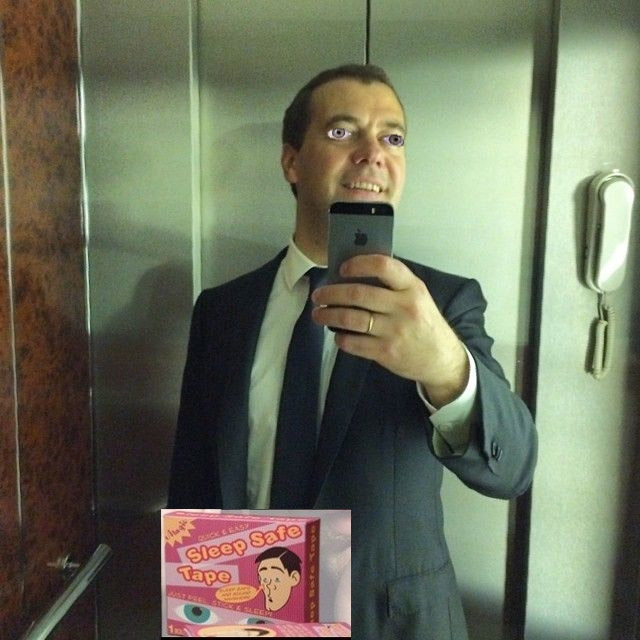 Фотожабы на селфи Медведева - 39