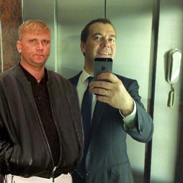 Фотожабы на селфи Медведева - 37