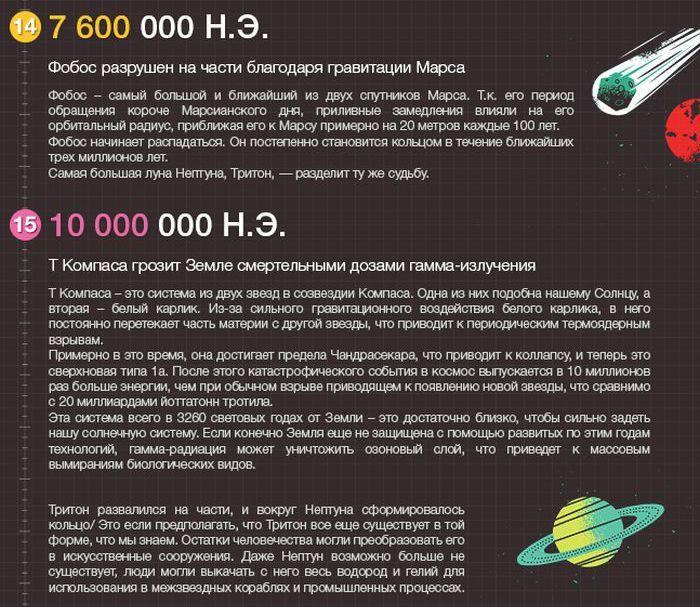 Будущее вселенной - 7