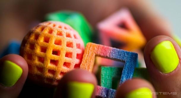 Сладости напечатанные на 3D принтере