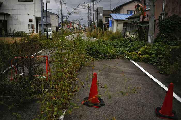 Мертвый город вокруг Фукусима-1