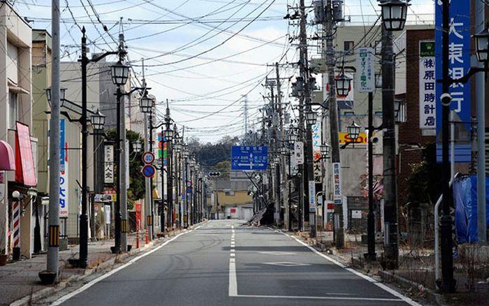 Мертвый город вокруг Фукусима-1 - 16