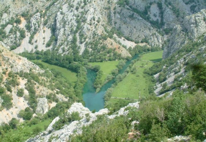 самая красивая река Хорватии