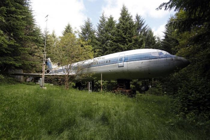 Дом в самолете Boeing 727