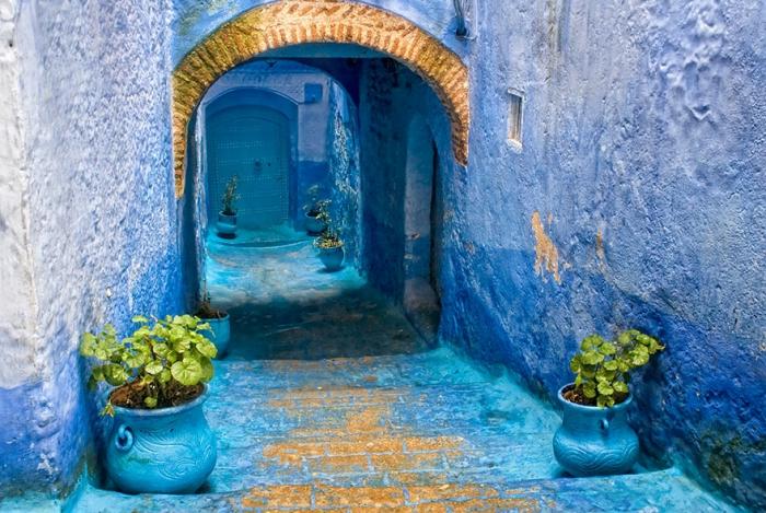 Прогулка по синему городу - 13