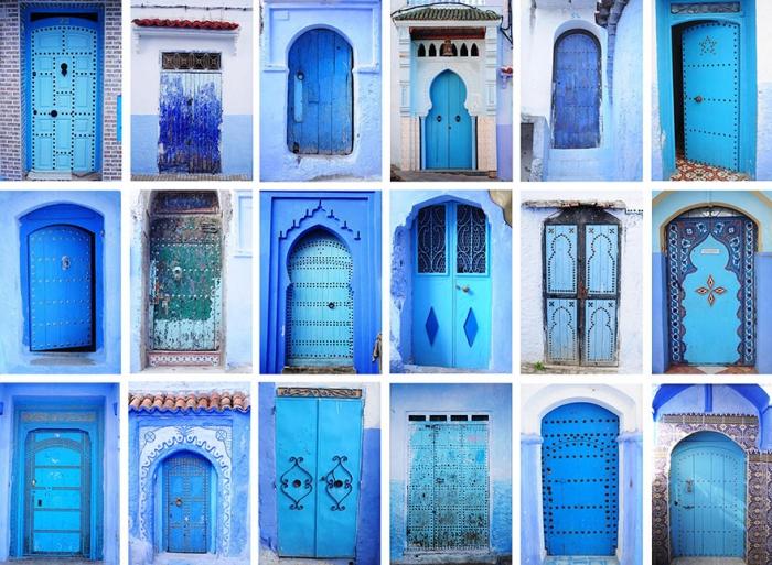 Прогулка по синему городу - 15