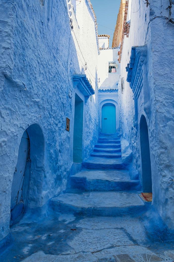 Прогулка по синему городу - 4