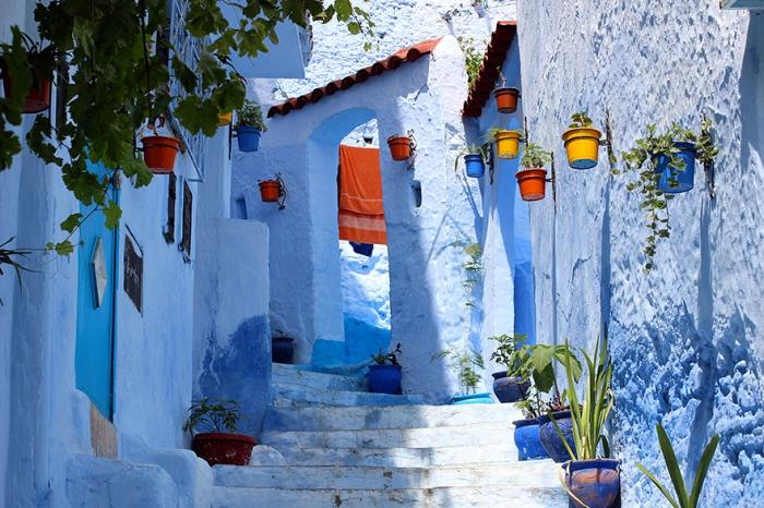 Прогулка по синему городу - 14