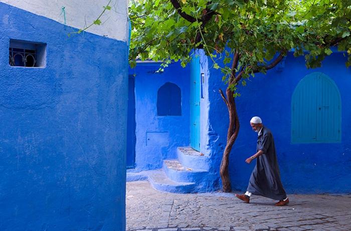 Прогулка по синему городу - 1