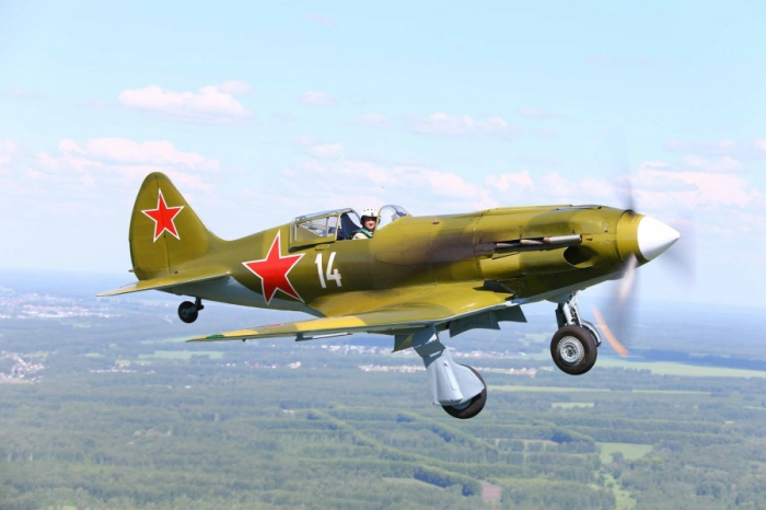 Реставрация самолета  времен Великой Отечественной