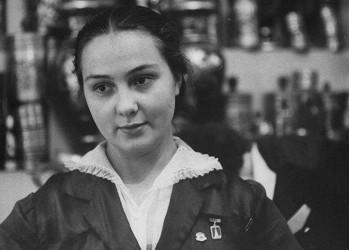Москвички в 1956 году