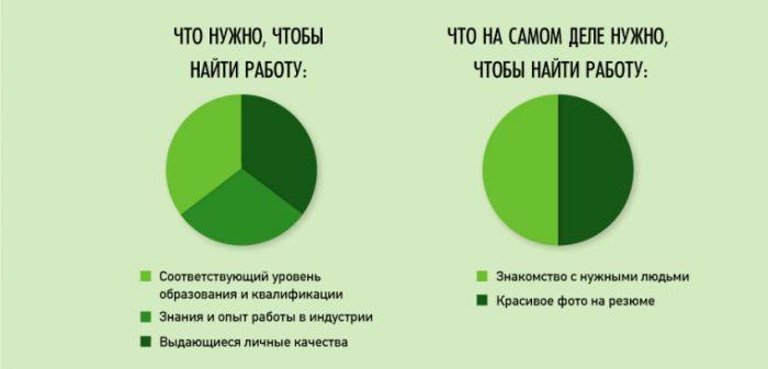 инфографики о нашей жизни - 1