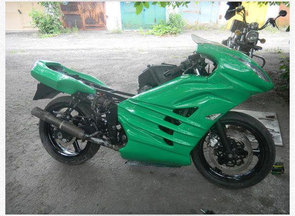 Обвес для мотоцикла своими руками