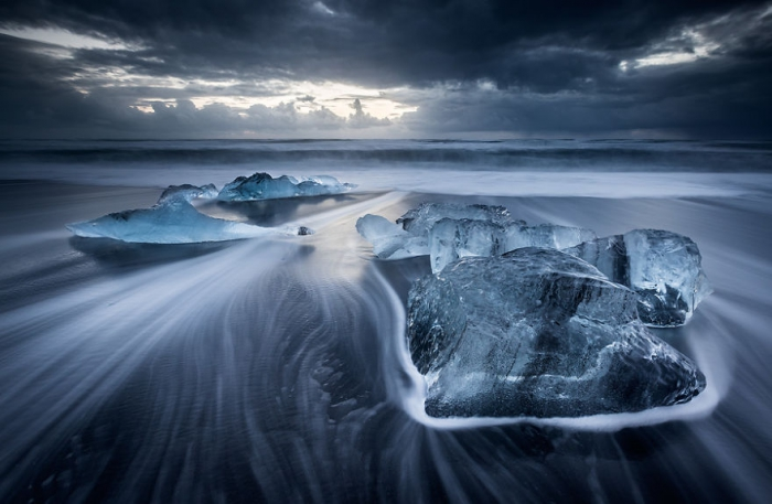 Зима в Исландии