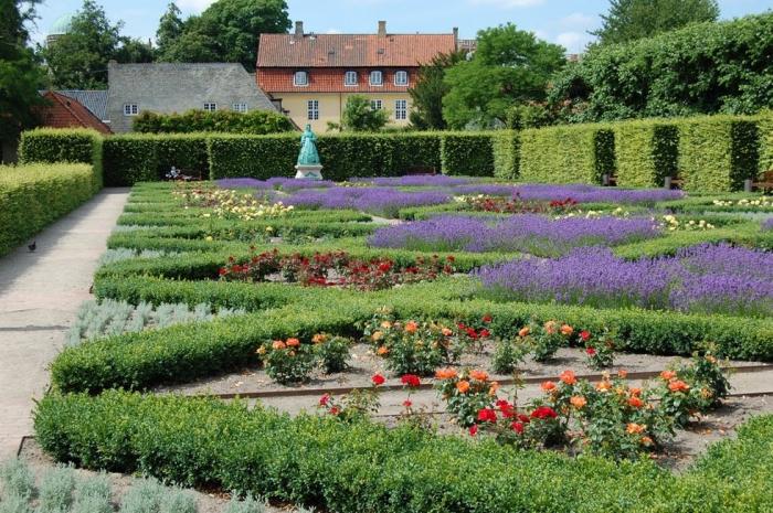 Сады замка Розенборг