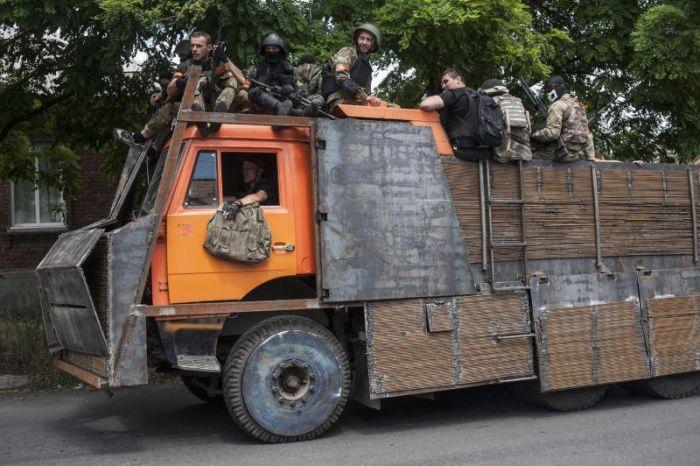 Самодельные броневики украинские армии