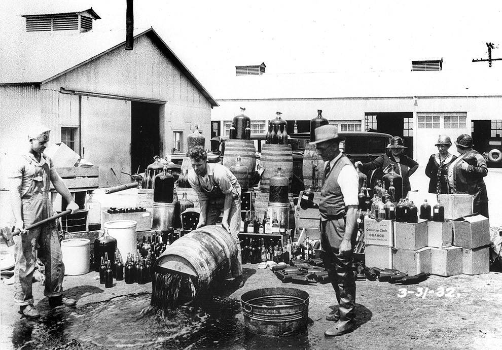 the origin and history of alcohol prohibition