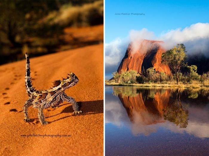 Пейзажные фотографии Австралии