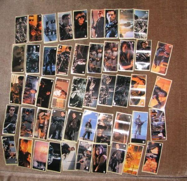 Полная коллекция наклеек Терминатор 2