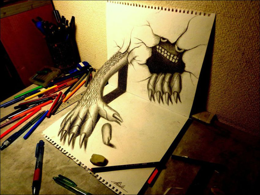Как сделать как будто нарисовано карандашами
