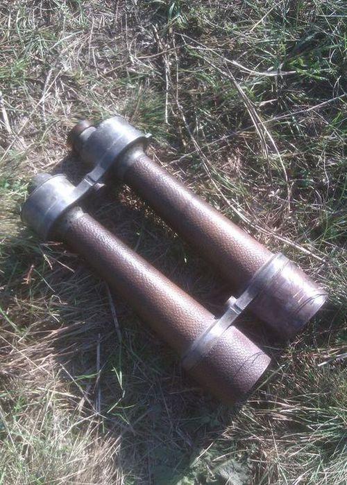 Старый бинокль найденный на чердаке