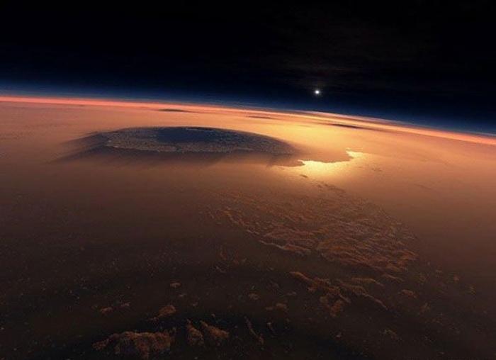 Странные предметы на фотографиях с Марса