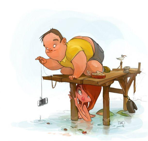 Иллюстрации Сергея Ишмаева