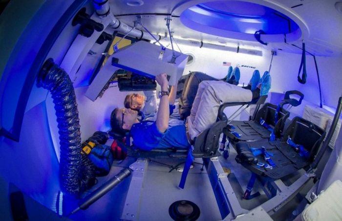 Первое в мире космическое такси