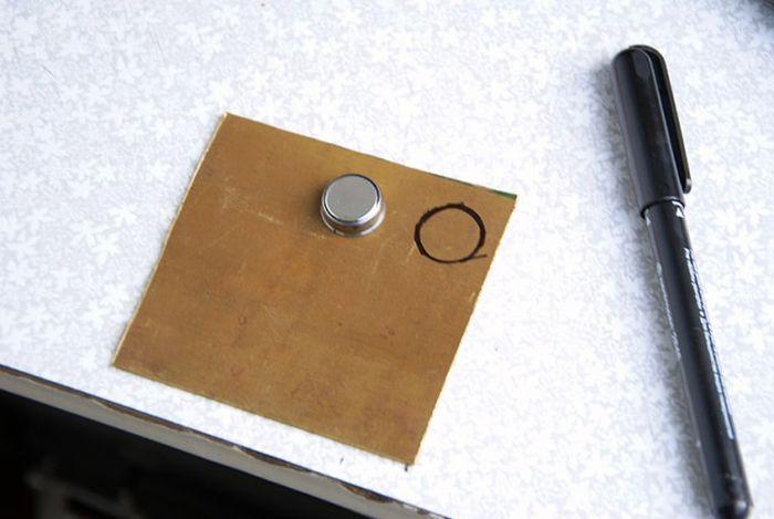 Стильный ключ от домафона своими руками
