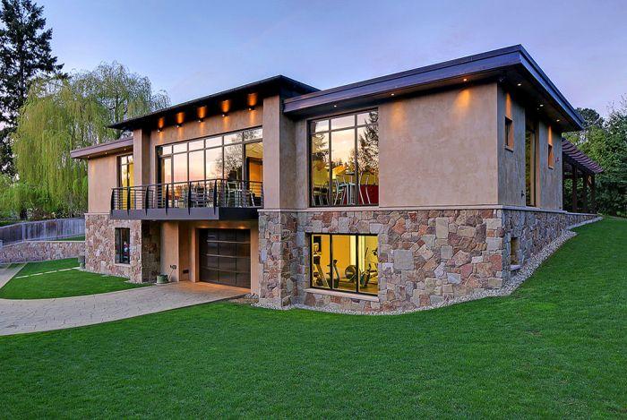 Дизайн постройка дома