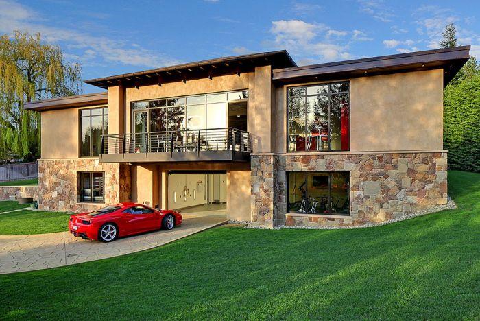 Дом-гараж в Вашингтоне