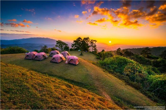 Палаточный туризм