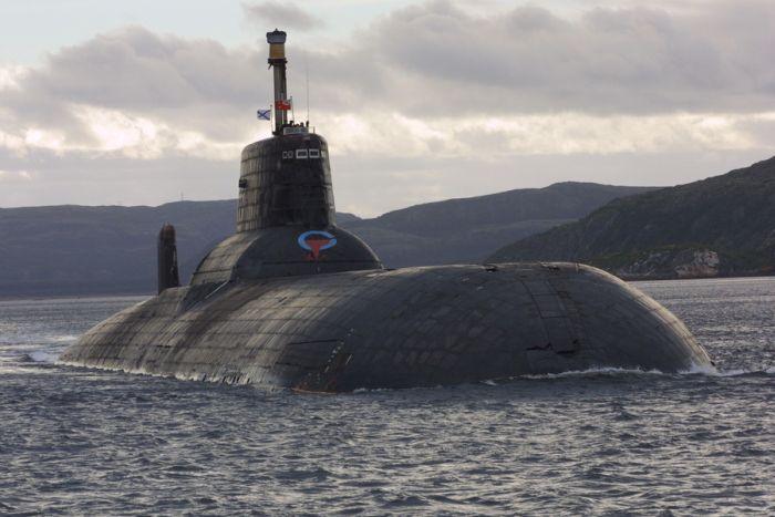 подводная лодка проекта 941 -