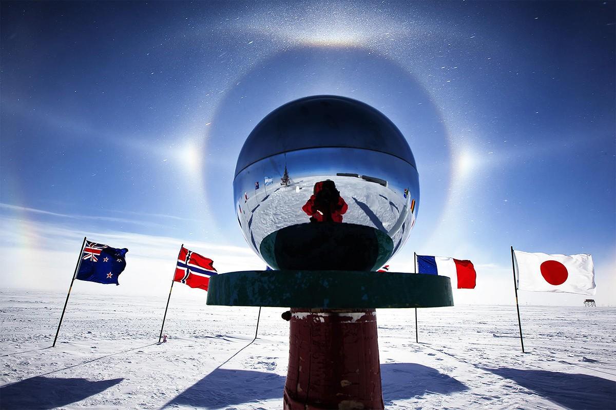 Северный полюс земли картинки