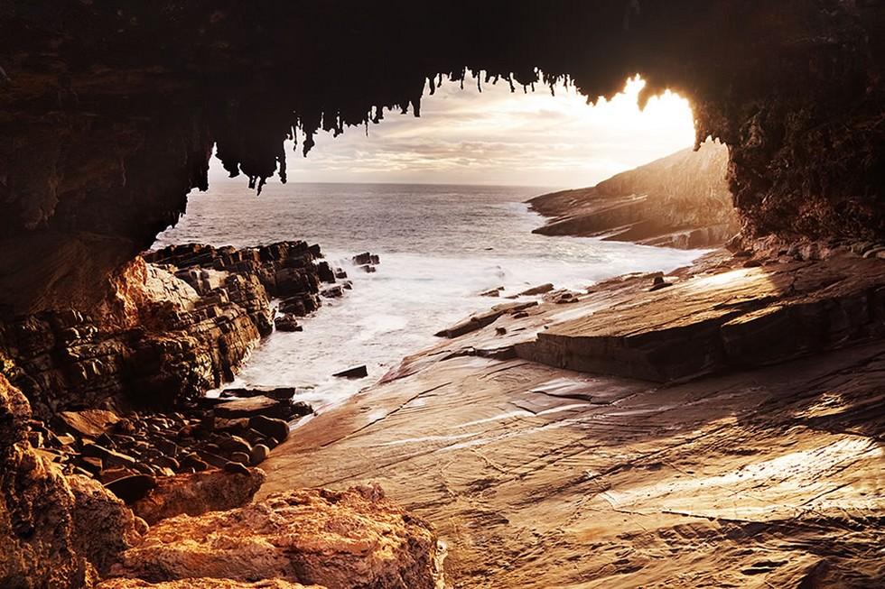 существуют остров в австралии фото пещера можешь