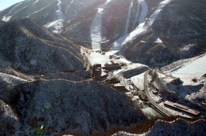 Первый горнолыжный курорт КНДР