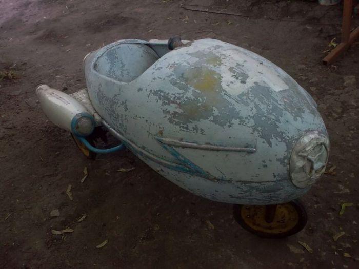 Восстановление детской машины Стрела