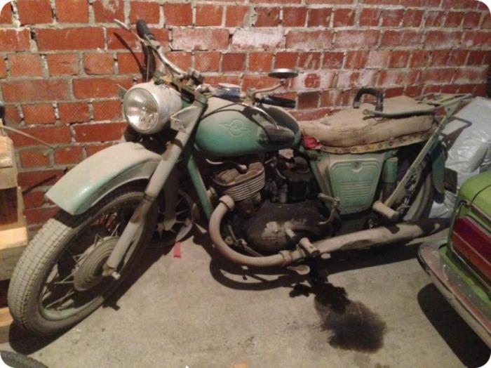 Вторая жизнь мотоцикла ИЖ-П